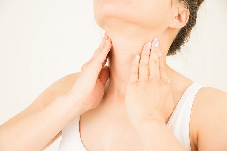 甲状腺内に腫瘤ができる病気